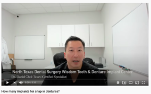 How Many Implants For A Snap In Denture